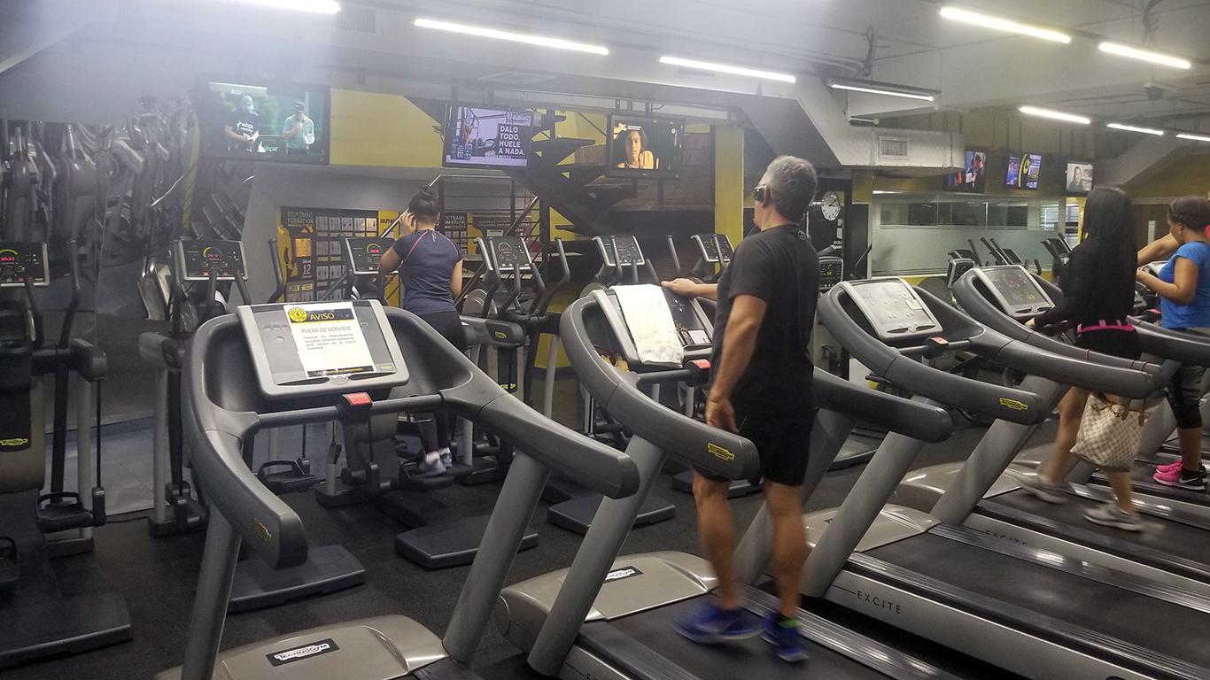 Gold's Gym Evaristo Morales - Cardio Uno