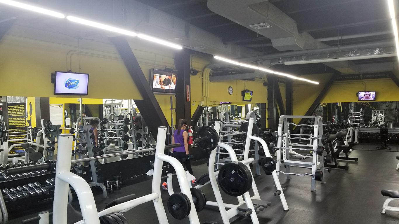 Gold's Gym Evaristo Morales - Pesas